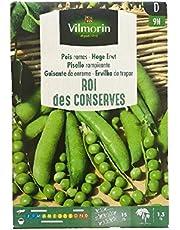 VILMORIN Semillas de Guisante de Enrame ROI des CONSERVES, 150 gr