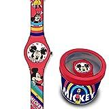 SKYLINE | Reloj Analógico para Niños | Reloj de Pulsera Infantil Ajustable | Reloj de Aprendizaje | con Caja de Aluminio para Regalo | Diseños Divertidos