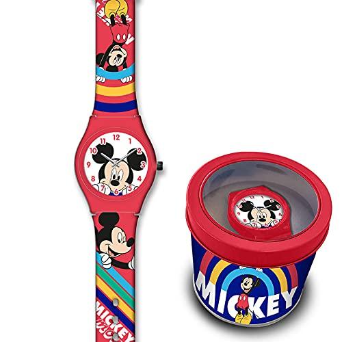 SKYLINE   Reloj Analógico para Niños   Reloj de Pulsera Infantil Ajustable   Reloj de Aprendizaje   con Caja de Aluminio para Regalo   Diseños Divertidos