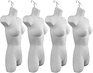 HANGERS MALE /& FEMALE TORSO MANNEQUIN SET in FLESH  Plastic Dress Body Forms