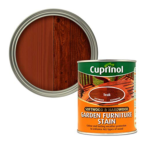 Cuprinol 5158524 Garden Furniture Stain Exterior Woodcare, Teak