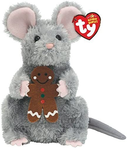 Stirring - grau Mouse with Gingerbread Cookie by Ty