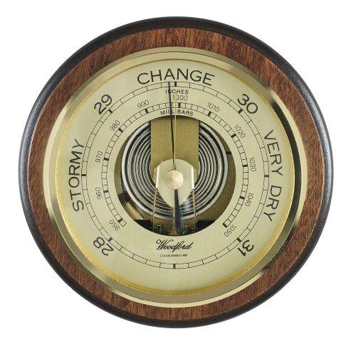Woodford Wandbarometer, Holz, Präzisionsmechanismus