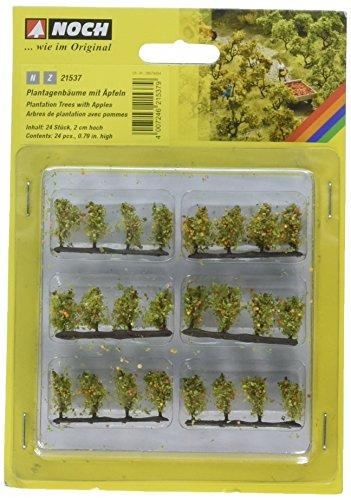 Noch 21537 Plantain Trees W/Apple 24/ N,Z Scale Model Kit