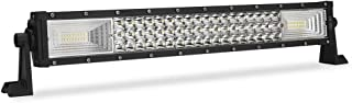 Led Light Bar 22 Inch BEAMCORN (24 in w Brackets) Spot Flood Led Bar Light 270W 27000LM Driving Light Spot Flood Super Bright Off Road Light Bar for Trucks ATV UTV UTE RZR Polaris Van SUV Jeep