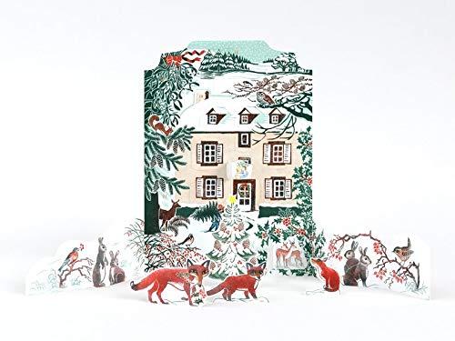 In unseren Träumen weihnachtet es schon: Adventskalender zum Aufstellen: Willkommen im Hazelnut House