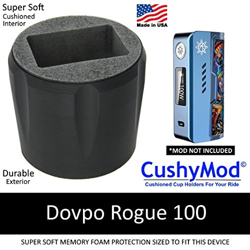 Dovpo Rogue 100 CUP HOLDER by CushyMod cover wrap skin sleeve case car mod vape