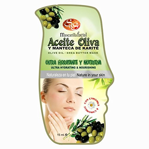 Laboratorio SyS Mascarilla Facial Aceite de Oliva y Karite - 24 Paquetes de 1 x 15 ml - Total: 360 ml