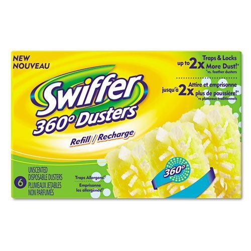 Swiffer 360° Duster Refills- ULINE - 6/box by Procter Gamble Commercial