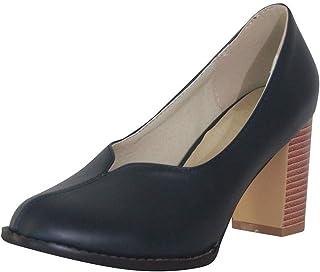 Luckycat Zapatos con Plataforma para Mujer Zapatos Mujer De Tacón Alto Primavera Verano Sandalias Fiesta PU Elegante 7cm P...