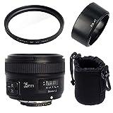Lente de cámara SLR Digital/Ajuste para Lente Yongnuo YN35mm F2N Lente de Enfoque automático Fijo de Gran Apertura y Gran Angular/Ajuste para Lente de cámara Nikon D7100 D3200 D3300 D3100 D5200 D9