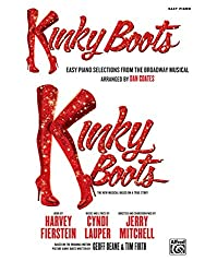 Kinky Boots: Easy Piano Selections from the Broadway Musical (English Edition)