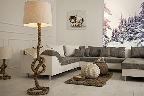 *DuNord Design Handgefertigte Skulptur Stehampe SAN DIEGO 160 cm*