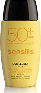 Sensilis Sun Secret Ultra Color Crema Protector Solar SPF50+ - 40 ml