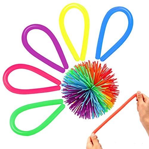 ABCMOS Alleviare lo stress Autismo Guanti sensoriali anti-stress ADHD Toy Decompression Toy