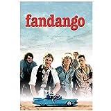 Sanwooden Fandango Filmplakat Kevin Costner und Nelson Road