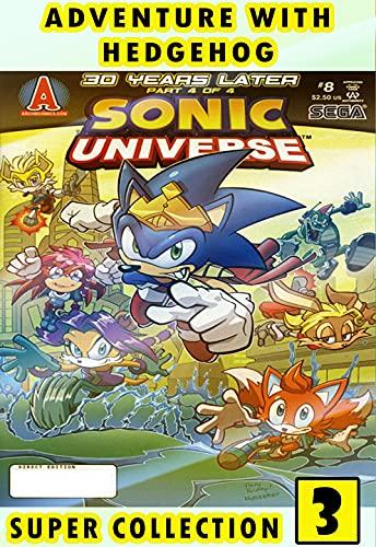 Hedgehog-Adventure-Universe: Collection 3 2021 Edition Adventure Comic Of So-nic Great Cartoon For Kids Children Boys Girls (English Edition)