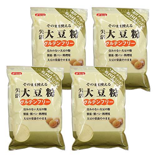 みたけ 失活 大豆粉(だいずこ) 500g×4袋セット グルテンフリー