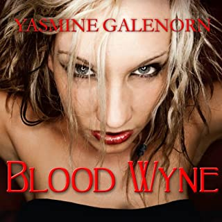 Blood Wyne audiobook cover art