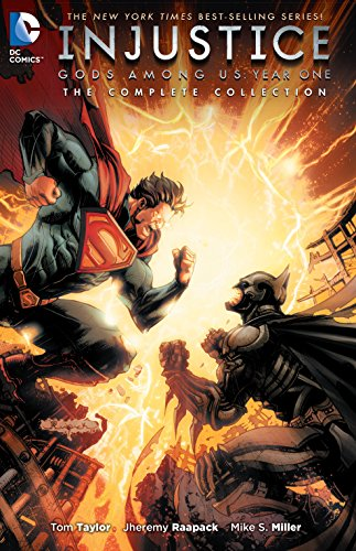 Compare Textbook Prices for Injustice: Gods Among Us Year One: The Complete Collection Illustrated Edition ISBN 9781401262792 by Taylor, Tom