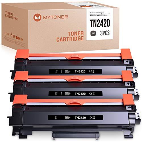 BONINK 3 Compatibile con Brother TN-2420 TN2420 Nero Toner Per Brother MFC-L2710DN MFC-L2710DW HL-L2310D HL-L2350DW HL-L2357DW HL-L2370DN HL-L2375DW MFC-L2730DW MFC-L2750DW DCP-L2530DW