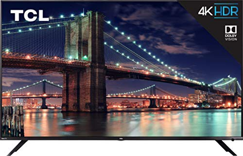 TCL 65R617 4K Roku Smart LED TV