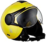 Vega Verve Open Face Helmet (Women's, Yellow, M)