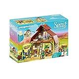 PLAYMOBIL DreamWorks Spirit Establo con Fortu, Pru y Abigaíl, a Partir de 4...