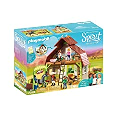 Based on the hit Netflix series, spirit riding free Hang out in Mr. Granger's barn with Lucky, pru, & ABIGAIL and their horses The Friends worked together to clean up the barn -- adding fresh paint and fun drawings, nameplates for all their horses' s...