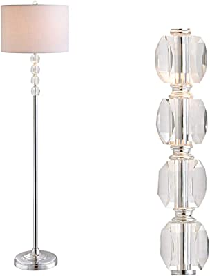 Claiborne Floor Lamp White Drum White Gloss Antique Floor Lamp Amazon Com