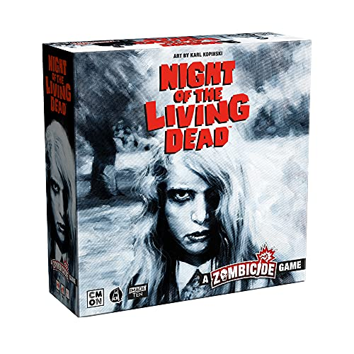 Guillotine Games- Zombicide- Night of The Living Dead, 1. Standalone (CoolMiniOrNot Inc 214455)