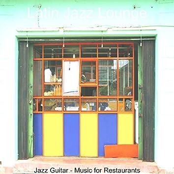Jazz Guitar - Music for Restaurants
