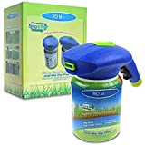 N / A Hydro Mousse Sprührasen Hydro Mousse Liquid Lawn Fertiliser Liquid Lawn System Grass Seed Sprayer for Seed Lawn Care Grass Shot Household Seeding System (Without Seed)