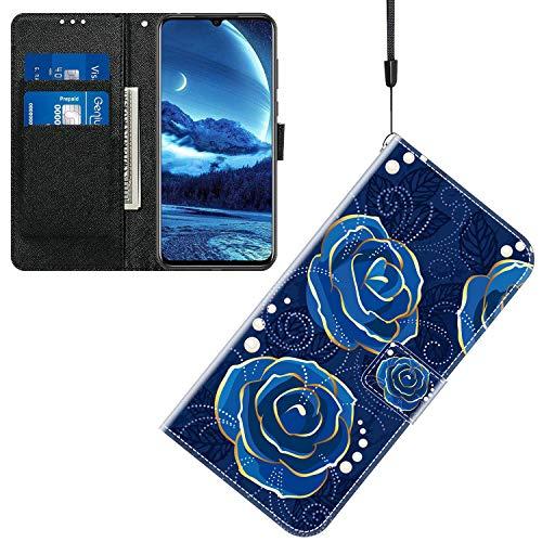 Sinyunron Klapptasche für Handy HTC U Ultra Hülle Leder Handytasche Handyhülle Brieftasche Hüllen Hülle mit Kartenfach & Ständer/ZMT01P-0G