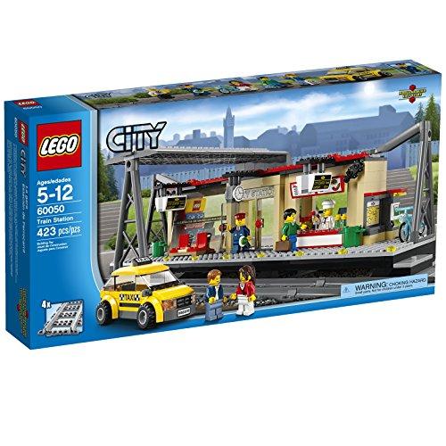 LEGO City Trains Train Station 60050 Building Toy by LEGO