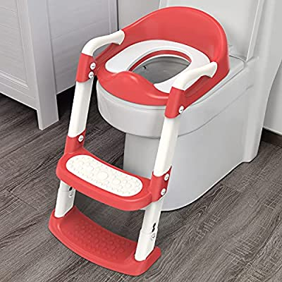Amazon - 30% Off on Potty Training Seat with Step Stool Ladder, Potty Training Toilet for Kids