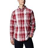 NCAA Alabama Crimson Tide Men's Rapid Rivers Long Sleeve Shirt, X-Large, ALA - Red Velvet Plaid