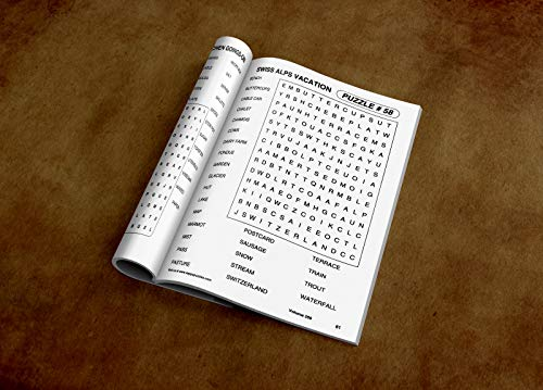Large Print Word-Finds Puzzle Book-Word Search Volume 309