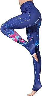 Extra Long Over The Heel High Waist Tummy Control Women's Yoga Pants Stirrup Leggings