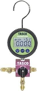 イチネンTASCO TA123DZ-1ボールバルブ式デジタルシングルゲージマニホールド