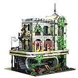 CT-Tribe Casa Blocchi di Costruzione, 2392 Pezzi - Ristorante Rovine, Giocattoli da Costruzione, Compatibile con Lego Casa