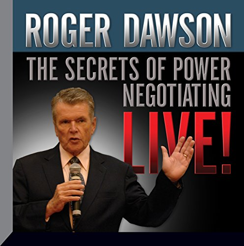 The Secrets of Power Negotiating Live! cover art