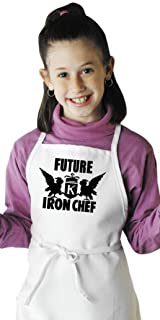 Future Iron Chef Child Apron for Kids Cooking