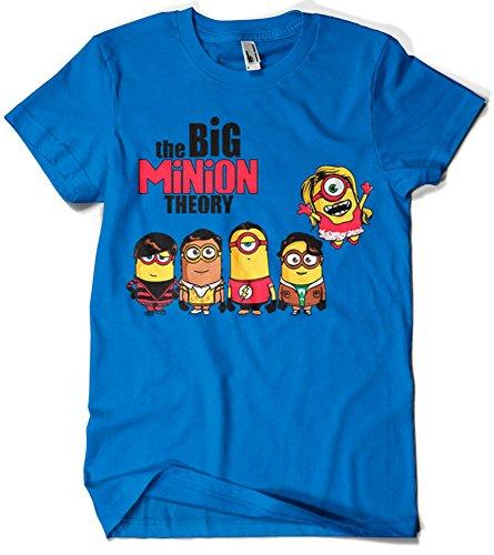Camisetas La Colmena 208-Maglietta Parody The Big Minion Theory (Donnie)