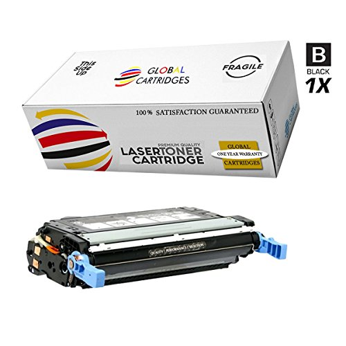 GLB Premium Quality Remanufactured Replacement for HP 501A/502A HP 3600/3800 Black Q6470A Toner Cartridge