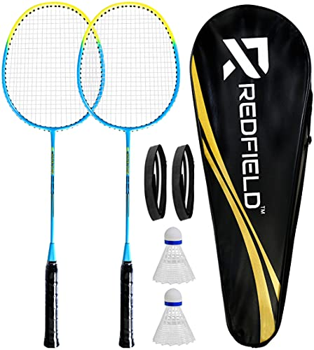 Redfield Set de Badminton - 2 Raquettes de...