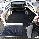Element EXP.NLC.16.63.B15 Tailored Custom Fit Rubber Boot Liner Protector Mat-Ford Ranger Double Cab 2011 Black