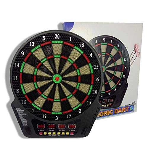 Giochi interattivi per i bambini Dartboard elettronico Ultra Thin Spider per area di punteggio aumentata Free Floating Segments Locking Segment Holes For Fewer Bounceouts Automatic Scoring Unisex gioc
