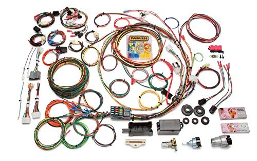 Painless 10118 Direct Fit F-Series Ford Truck Harness with Switches (1967-1977, 21 Circuits), 1 Pack