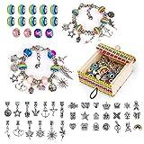 Regalos para niñas de 7 8 9 10 11 años, kit de fabricación de pulseras y joyas para niñas de 7 8...